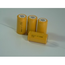 Battery NiCD SC Flat Top 1.2V  2200mA