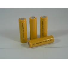 Battery NiCD AA Flat Top 1.2V 1100mA
