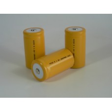 Battery NiCD D High Top 1.2V 1800mA