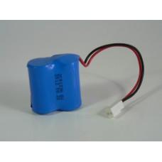 2CR123A passive Battery pack 6V (2x3V)