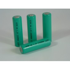 Battery NiMH AA Flat Top 1.2V 2200mA