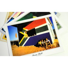 Set of 10 postcards of South Africa and Big 5 animals